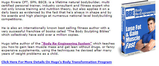 Hugo Rivera - Bodybuilding Program