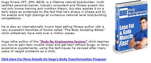 Hugo Rivera - Bodybuilding Program